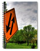 In Sync With Nature  Spiral Notebook