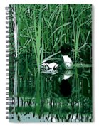 in the Bulrushes Spiral Notebook