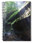 In The Cleft Of The Rock Spiral Notebook