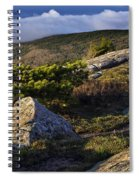 In The Clouds At Cadillac Spiral Notebook