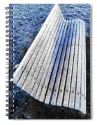 In The Cold Light Of Dawn  Spiral Notebook