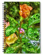 In The Garden Of Dreams Spiral Notebook