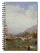 In The Gulf Of Venice Spiral Notebook