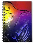 In The Heat Of The Moment Spiral Notebook