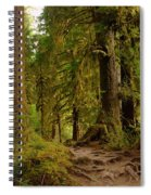 In The Land Of The Giants  Spiral Notebook