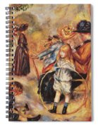 In The Luxembourg Gardens Spiral Notebook