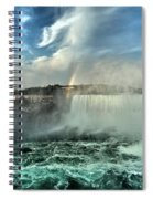 In The Middle Of Horseshoe Spiral Notebook
