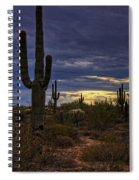 In The Shadow Of The Saguaro  Spiral Notebook