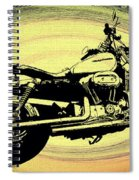 In The Vortex - Harley Davidson Spiral Notebook