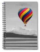 In Their Own World Colorado Ballooning Spiral Notebook