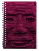 In Your Face In Hot Pink Spiral Notebook