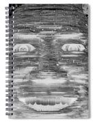In Your Face In Neagtive Spiral Notebook