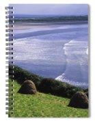 Inch Beach, Co Kerry, Ireland Spiral Notebook