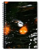Incoming Koi Missiles Spiral Notebook