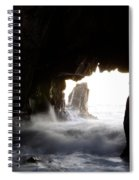 Incoming Tide Big Sur Spiral Notebook