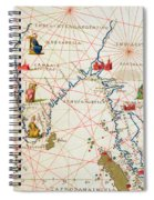 India And Malaysia Spiral Notebook