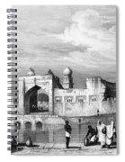 India: Bijapur, C1860 Spiral Notebook