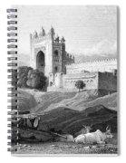India: Fatehpur Sikri, C1860 Spiral Notebook