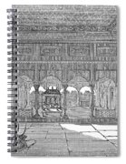India: Hindu Temple Spiral Notebook