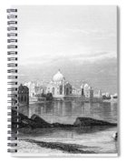 India: Taj Mahal, C1860 Spiral Notebook