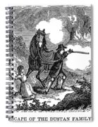Indian Attack, 1697 Spiral Notebook