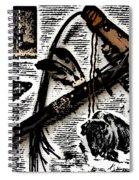 Indian Buffalo Jawbone Tomahawk Spiral Notebook
