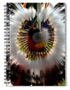 Indian Bustle Spiral Notebook
