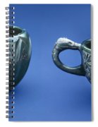 Indian Cups Spiral Notebook
