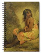Indian Girl Spiral Notebook