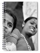 Indian Girls Spiral Notebook