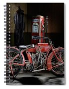Indian Hedstrom Spiral Notebook