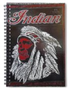 Indian Motorcycles Spiral Notebook