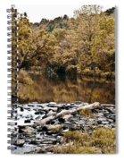 Indian Summer At Brandywine Creek Spiral Notebook