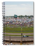 Indianapolis Race Track Spiral Notebook