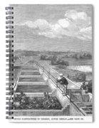 Indigo Manufacture, 1869 Spiral Notebook