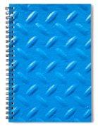 Industrial Metal Spiral Notebook