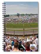 Indy 500  Race Day Spiral Notebook