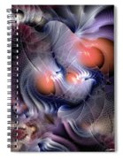 Inexplicable Convergence Spiral Notebook