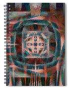 Infinite Scrollwork Spiral Notebook