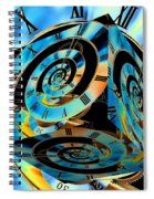 Infinity Time Cube Spiral Notebook