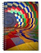 Inflating Spiral Notebook