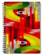 Information Superhighway Spiral Notebook