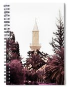 infrared Hala Sultan Tekke Spiral Notebook