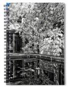 Infrared Summer Spiral Notebook