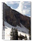 Inhaling Clouds Spiral Notebook