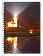 Inland Lighthouse In Indiana Spiral Notebook