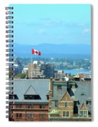 Inner Harbour As Seen  Via Marriot Window Spiral Notebook