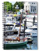 Inner Harbour Spiral Notebook