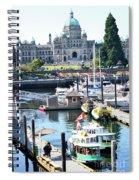 Inner Harbour4 Spiral Notebook