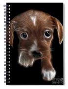 Innocent Loving Eyes Spiral Notebook